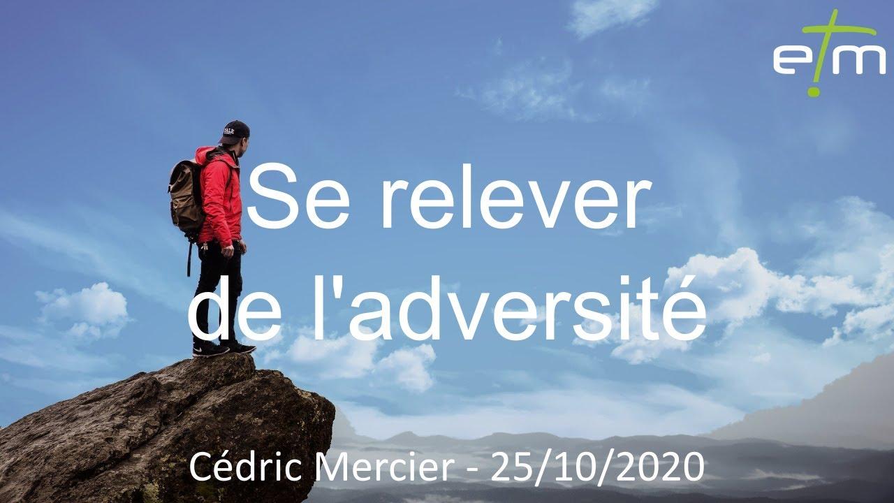 Se relever de l'adversité