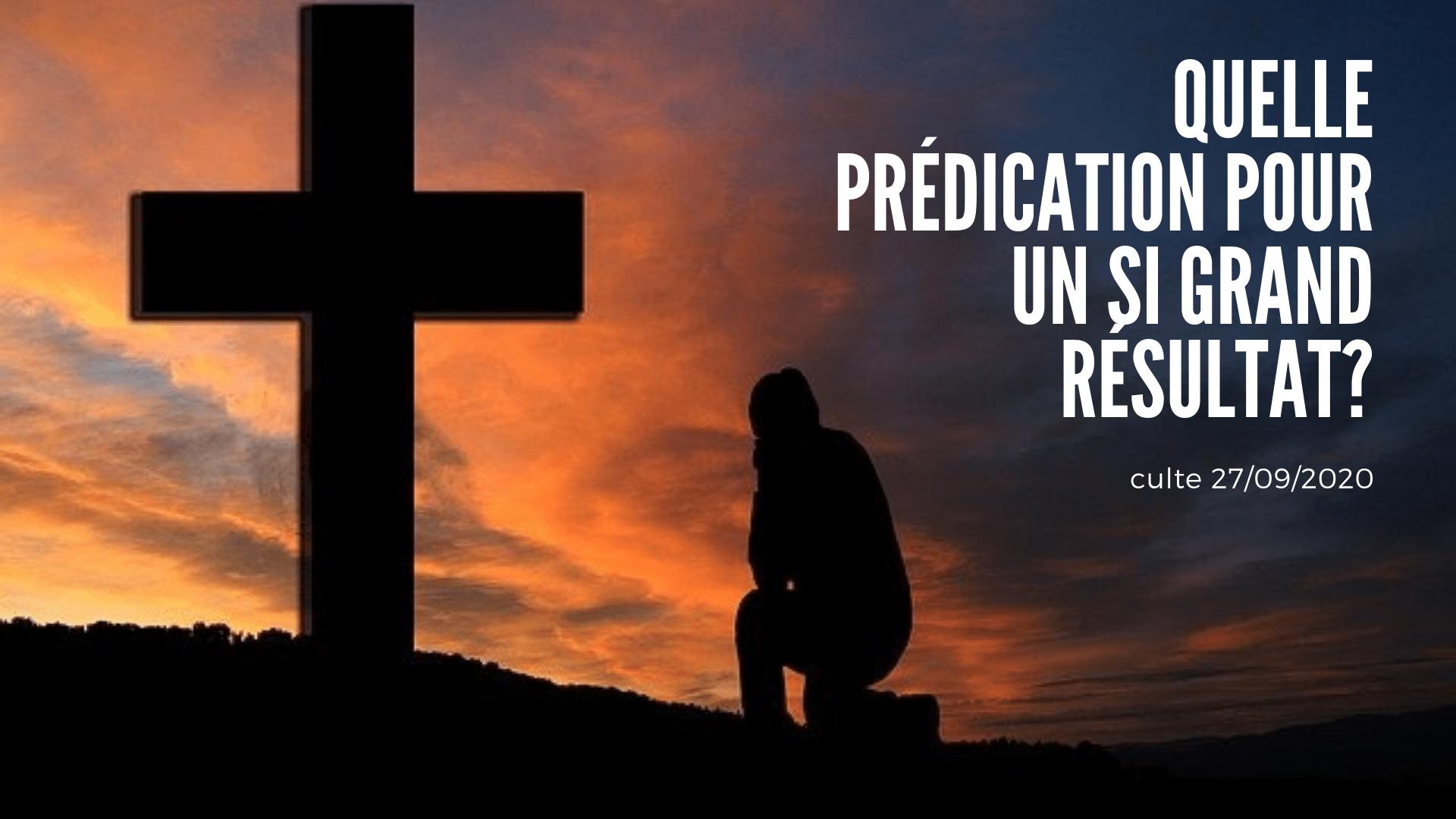 Quelle prédication pour un si grand résultat?